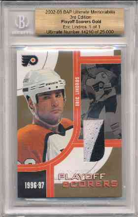 1996-97 Be A Player Link to History Autograph Refractor Lindros